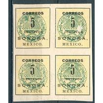 Sc 407 Año 1914 B4 5c Sonora. Mexico.