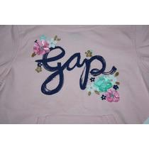 ~sudadera Gap C/ Gorro Niña Rosita Flores Talla 2, 3 $359
