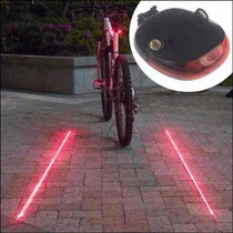 10 Lamparas Led Laser Para Bicicleta Envió Gratis!!