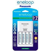 Baterías Aa Y Cargador Eneloop Panasonic - Recarga 2100veces