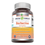 Amazing Formulas Berberine 1200mg Per Serving, 60 Count