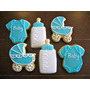 Bautizo, Baby Shower Galletas Decoradas Profesionalmente!!