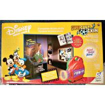 Super Cine Exin Disney Con 2 Cartuchos Nuevos Mickey, Donald