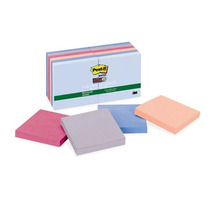 Notas Adhesivas 12 Pk Papel Reciclado Post-it 3m