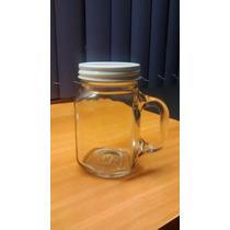 Envase Frasco De Vidrio Con Asa 420 Ml. Caja Con 12 Piezas