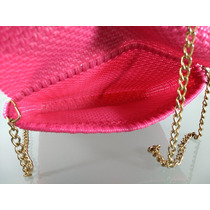 eb9cca12b Bolsa Mano Monedero Artesanal Plastico Tejido 26×20 Rosa en venta en ...