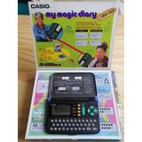 Agenda Electronica Casio My Magic Diary Jd-6000 De 1994
