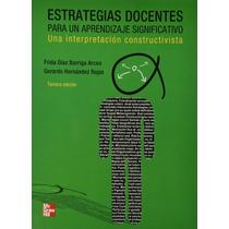 Libro Estrategias Docentes Para Un Aprendizaje + Regalo
