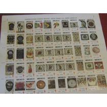 Colección De Estampillas Completa