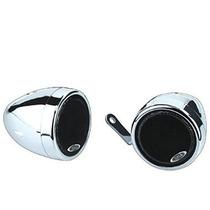 Jefe De Audio Mc500 Chrome 600 Vatios De La Motocicleta / At