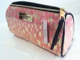 7cad11df6 Cosmetiquera Victorias Secret Neceser Makeup Bag Rosa Leopar en ...