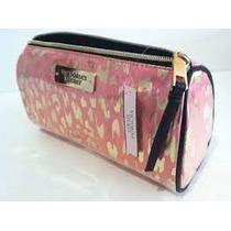68ed4ed83b Cosmetiquera Victorias Secret Neceser Makeup Bag Rosa Leopar en ...