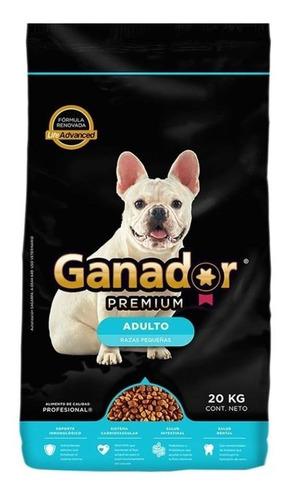 Alimento Ganador Premium Perro Adulto Raza Pequeña 20kg