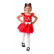 Minnie Mouse Traje - Mini Rojo De La Bailarina Para Bebé Ni