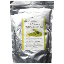 Matcha Green Tea Powder 16 Oz (1 Libra) Bolsa De Té A Granel