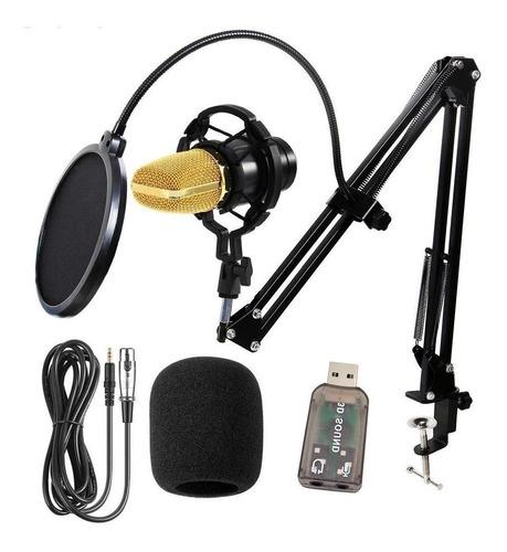 Micrófono Bm 700 Condensador Cardioide Negro