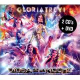 Gloria Trevi Diosa De La Noche En Vivo Arena Cdmx 2 Cd + Dvd