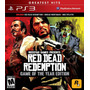 Red Dead Redemption Game Of The Year Ps3 Entrega Inmediata