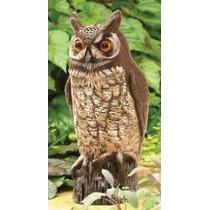 Espanta Pajaros Buho Depredador Espantapajaros Aves Pichones