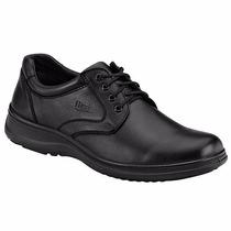 Zapatos Flexi Casuales T/piel 63201 Negro Pv