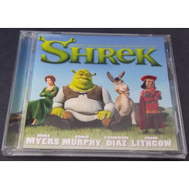 Shrek 1 Cd Soundtrack Made In U S A Unica Ed 2001 C/booklet