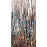 Extensiones De Brillos Glitter Hair Extensión Tinsel 120cm