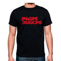 Playera Imagine Dragons Rock Bandas Mas Promociones