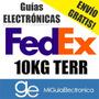 Guia Electronica Fedex Terrestre 10kg, Digital Envío Gratis