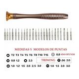 Kit Desarmadores Para Reparación iPhone  + Triwing 7 ,7 Plus