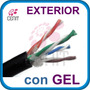 Cable Red Utp Exterior Gel Cat5e 100% Cobre 100 Metros Lbf