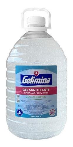 Gel Antibacterial Para Manos 5 Litros Gelimina
