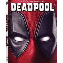 Deadpool - Bluray + Dvd Importado Usa Ryan Reynolds Marvel