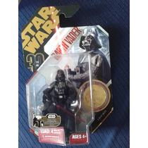 Star Wars Darth Vader Moneda Dorada Hasbro