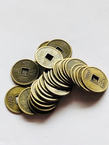 56 Monedas Chinas Fortuna Diametro 2.5 Cm Suerte Grande