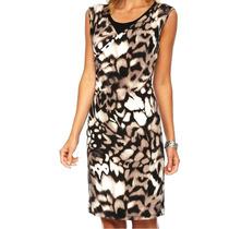 Vestido Calvin Klein Talla Xl Color Animal Print Nuevo