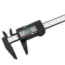 Calibrador Vernier Pie De Rey Digital Fibra De Carbono 150mm