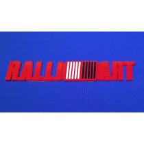 Emblema Ralliart Plástico Adherible