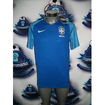 Jersey Oficial Original Nike Selección Brasil 2016 Visita