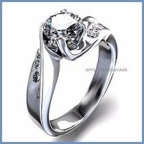Bello Anillo De Compromiso Diamante .30ct Oro 14k -50%