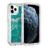 Protector Case 360 Uso Rudo Marmol iPhone 6/7/8/plus/x/xs/xr/xsmax