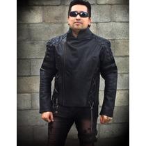 Chamarra Dark Biker Motociclista Rock Metal Harley