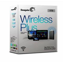 Disco Duro Externo Portatil Seagate Wireless Plus 1tb Wifi
