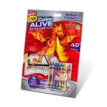 Criaturas Crayola Colores Vivos Acción Colorear-míticos