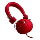 Audífonos Vorago Hp-300 Rojo