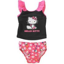 Traje De Baño Talla 18 Meses Niña Hello Kitty Envio Gratis