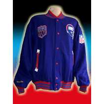 Nfl Chamarra Throwback New York Giants Talla Xl Michell& Nes
