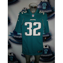 Jersey Oficial Nike Nfl Jaguares Jacksonville Verde Mediana