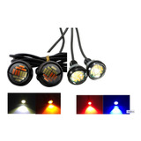 Ojo De Aguila Led Jetta Audi Bmw Faro Doble Color 12 Led 1pz