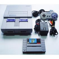 Consola Super Nintendo Snes Mario World Retromex Tcvg