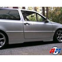 Estribos Golf/ Jetta A3 1993-1998 Liso